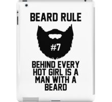 Beard Rule #7 iPad Case/Skin