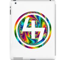 47 (4th and 7th Chakra) ACID LSD WARP iPad Case/Skin