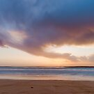 Sunset from the beach by homydesign