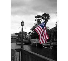 I Pledge Allegiance Photographic Print