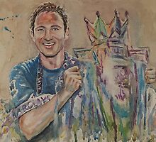 Frank Lampard - Portrait 2 by artsNportraits