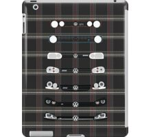 VW Golf Plaid iPad Case/Skin