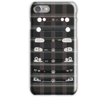 VW Golf Plaid iPhone Case/Skin