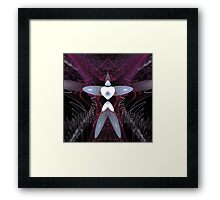 'DoveMan (In Good Hands) Framed Print