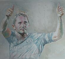 Frank Lampard - Portrait 1 by artsNportraits