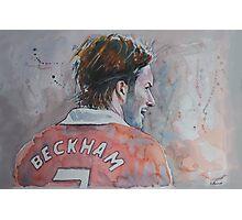 David Beckham - Portrait 2 Photographic Print