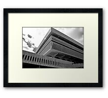 New York State Cultural Center Framed Print