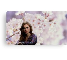 Lydia Martin Into The Woods Canvas Print