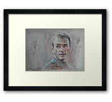 David Beckham - Portrait 1 Framed Print