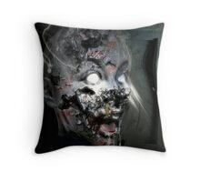 Hell's Damnation Throw Pillow