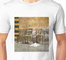 Three Chairs comics Unisex T-Shirt