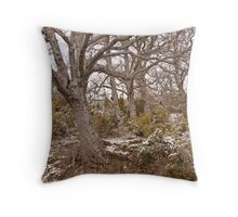 Bare trees Throw Pillow