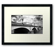 Putney Bridge Framed Print