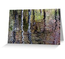 Impressionist Reflection Greeting Card