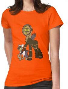 Big Daddy and little sister Womens Fitted T-Shirt