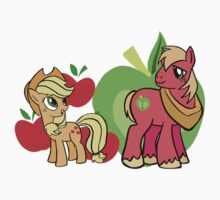 apple jack and big mac by Malentis