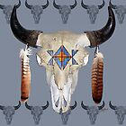 Southwest Buffalo Skull by John Guthrie