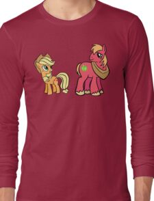 apple jack and big mac Long Sleeve T-Shirt
