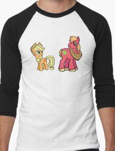 apple jack and big mac Men's Baseball ¾ T-Shirt