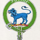 Clan Bruce Scottish Crest by Cleave
