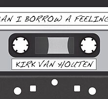 Kirk Van Houten Tape by MissClaraBow