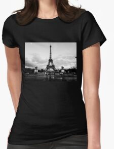 Eiffel Tower Womens Fitted T-Shirt