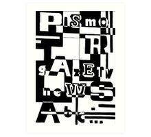 Press II Art Print