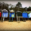 beach hut by Tony Day