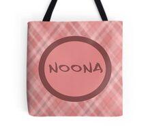NOONA - PINK PLAID Tote Bag