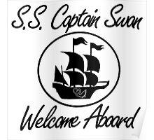 S.S. Captain Swan Poster