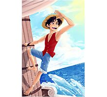 .:One Piece:. Set Sail! Photographic Print