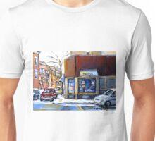 MONTREAL MEMORIES EXCEPTIONAL CANADA ART BEAUTY'S RESTAURANT RUE ST.URBAIN BEST MONTREAL ART Unisex T-Shirt