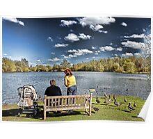 At the Lake~ Poster