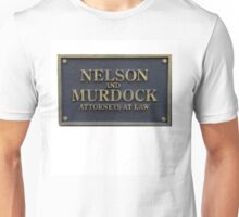 Nelson and Murdock - Attorneys at Law Unisex T-Shirt