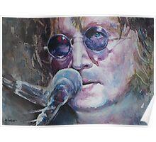 John Lennon - Portrait 1 Poster