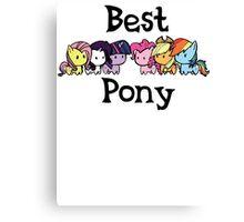 best pony Canvas Print