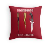 Buffy - In Every Generation... Throw Pillow
