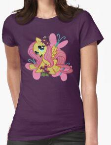 flutterstache Womens Fitted T-Shirt