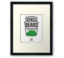Senzu Beans Framed Print