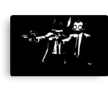 Ratchet and Clank Pulp Fiction Canvas Print
