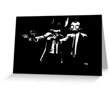 Ratchet and Clank Pulp Fiction Greeting Card