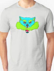 Psychedelic Smoke Wolf T-Shirt