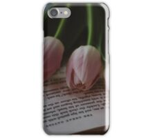 Tulips and Literature iPhone Case/Skin