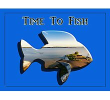 Time to Fish 2 - Design Art Photographic Print