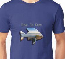 Time to Fish 2 - Design Art Unisex T-Shirt