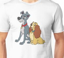 lady and tramp Unisex T-Shirt