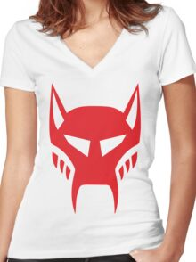 maximal logo Women's Fitted V-Neck T-Shirt
