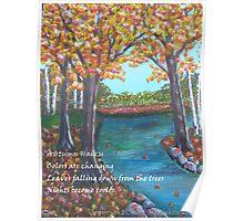 Autumn Haiku Poster