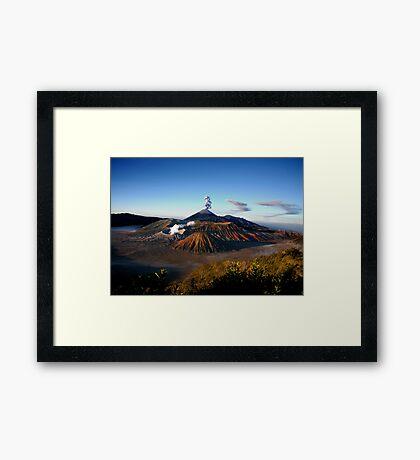 MT. BROMO - EAST JAVA Framed Print