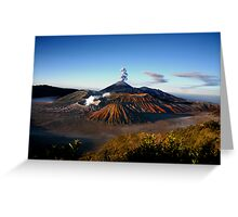MT. BROMO - EAST JAVA Greeting Card